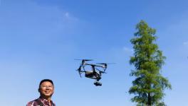 珠海市摄影家协会副主席朱瑞盛作专题讲座《飞越珠海》