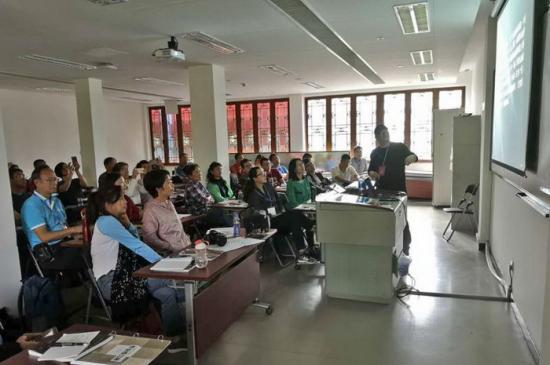 北京摄影函授学院广东校区珠海班 举行开学典礼及第一次面授活动