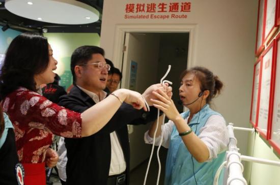 摄协会员参加珠海市红十字会活动月的活动