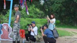 十会员进入獭山进行《光影乡村》摄影培训